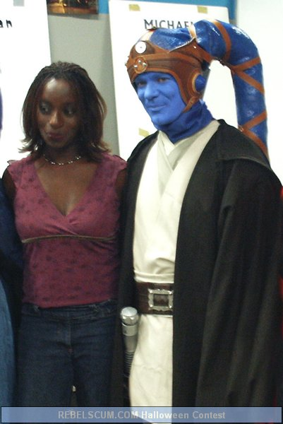 David Gent as Twi'Lek Jedi