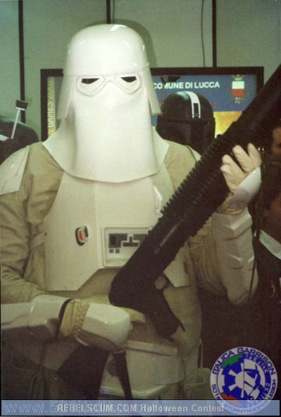 Francesco Foti as a Snowtrooper