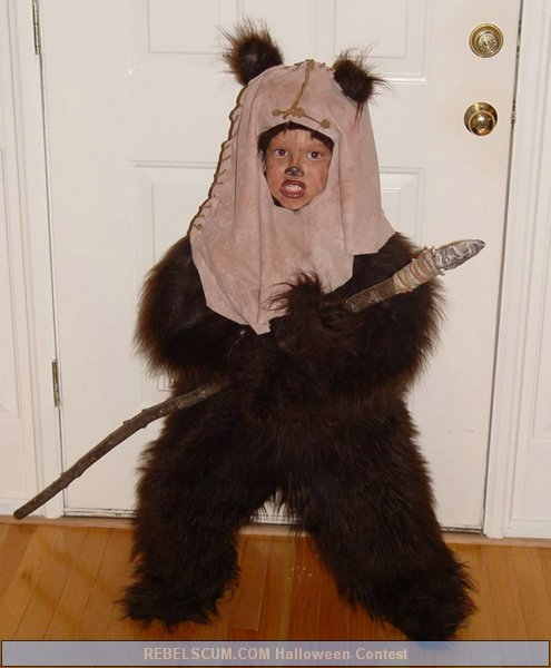 YUB YUB here comes Jimmy the Ewok