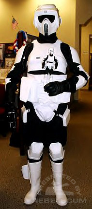 Joe Delio as a Biker Scout