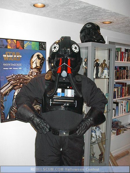 Mike Bell as a TIE Pilot
