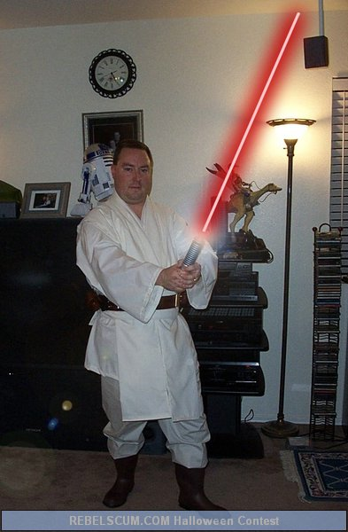 Mike Scherm as a Jedi