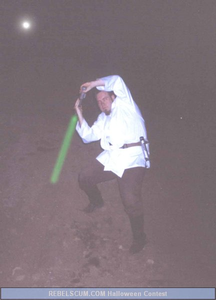 Robert Lucchesi as a Jedi