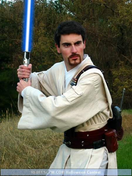 Ryan Jones as Obi Wan from the Clone Wars
