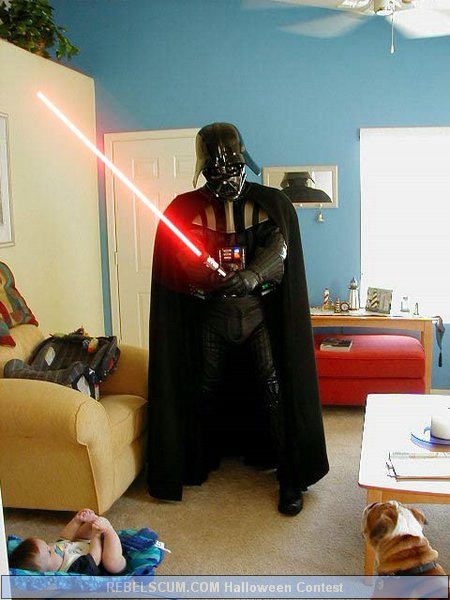 Trey Moore as Darth Vader