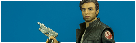 #53 Captain Poe Dameron - The Black Series 6-inch action figure from Hasbro
