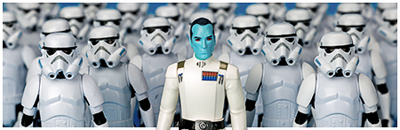 Grand Admiral Thrawn from Hasbro's Rogue One Collection