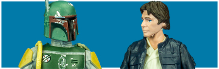 Han Solo & Boba Fett Two-Pack from Hasbro