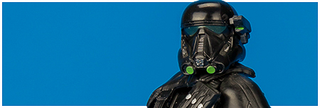 Imperial Death Trooper with specialist gear from Hasbro's Rogue One Collection