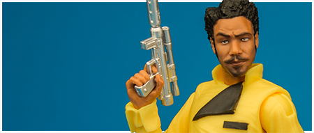 Lando Calrissian - The Black Series 6-inch action figure from Hasbro