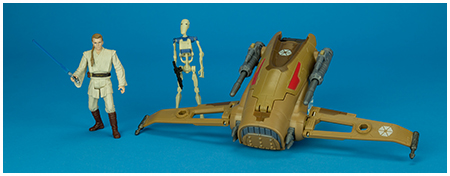 MTT Droid Fighter - Star Wars: Saga Legends collection from Hasbro