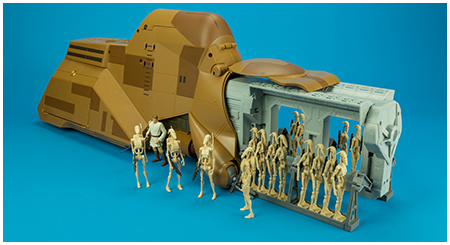 Trade Federeration MTT (Multi Troop Transport) - Star Wars: Saga Legends / The Clone Wars collection from Hasbro