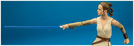 Rey (Island Journey) - The Black Series 6-inch action figure from Hasbro