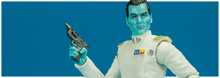 Grand Admiral Thrawn 2017 San Diego Comic-Con Exclusive The Black Series 6-Inch Action Figure from Hasbro