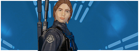 Sergeant Jyn Erso (Imperial Ground Crew Disguise) from Hasbro's Rogue One Collection