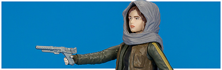 Sergeant Jyn Erso (Jedha) Rogue One 3 3/4-Inch Action Figure from Hasbro