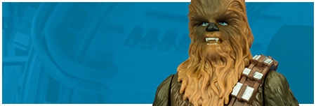 Chewbacca (with porg!) from Hasbro's The Last Jedi Collection