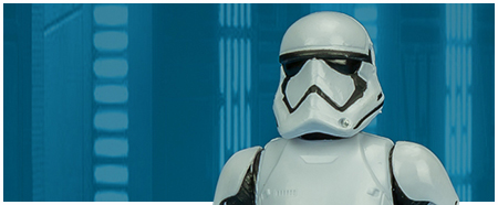 First Order Stormtrooper from Hasbro's The Last Jedi Collection
