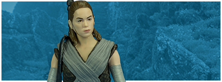 Rey (Jedi Training) from Hasbro's The Last Jedi Collection