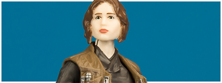 VC119 Jyn Erso - The Vintage Collection 3.75-inch action figure from Hasbro