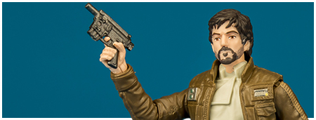 Captain Cassian Andor - Walmart exclusive The Black Series 3.75-inch action figure collection from Hasbro