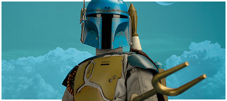 TMS006 Boba Fett (Animation Version) 1/6 Scale Collectible Figure from Hot Toys