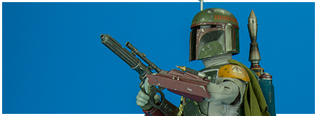 MMS313 Boba Fett Deluxe Movie Masterpiece Series from Hot Toys