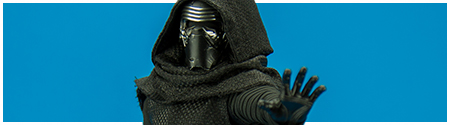 MMS320 Kylo Ren 1/6 scale collectible figure from Hot Toys