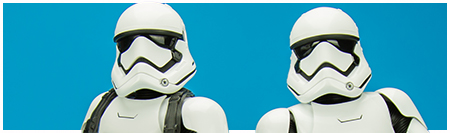 MMS319 First Order Stormtroopers - The Force Awakens Movie Masterpiece Series from Hot Toys