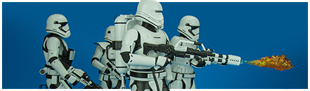 MMS326 First Order Flametrooper 1/6 Scale Figure from Hot Toys