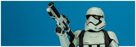 MMS333 The Force Awakens 1/6th scale First Order Stormtrooper - Jakku Exclusive collectible figure from Hot Toys