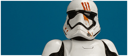 MMS367 Finn (First Order Stormtrooper Version) - Movie Masterpiece Series 1/6 scale collectible figure from Hot Toys