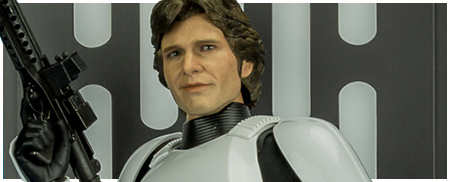 MMS418 Han Solo (Stormtrooper Disguise) 1/6 Scale Collectible Figure from Hot Toys
