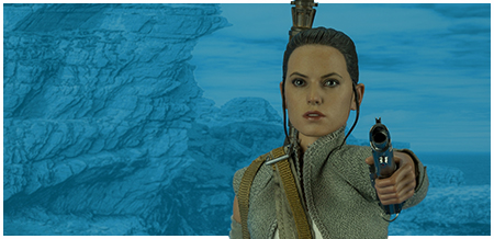 MMS377 Rey (Resistance Outfit) The Force Awakens 1/6 Scale Collectible Figure from Hot Toys