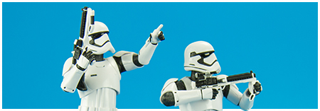 First Order Stormtrooper ARTFX+ Two Pack from Kotobukiya