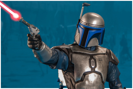 Jango Fett Attack Of The Clones ARTFX+ Statue From Kotobukiya