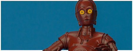 R-3PO Barnes & Noble exclusive Star Wars ARTFX+ 1/10 scale model kit from Kotobukiya