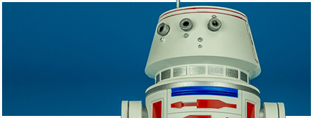 R5-D4ARTFX+ 1/10 Scale Model Kit from Kotobukiya