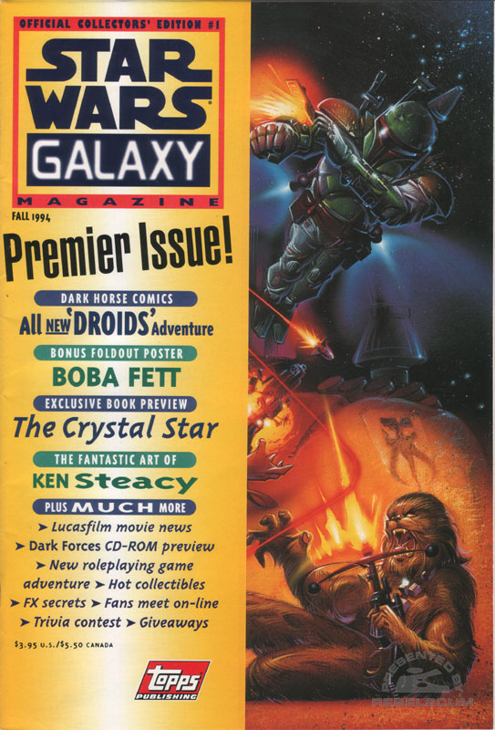Star Wars Galaxy Magazine #1 Fall 1994