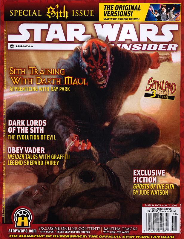Star Wars Insider 88 cover 3
