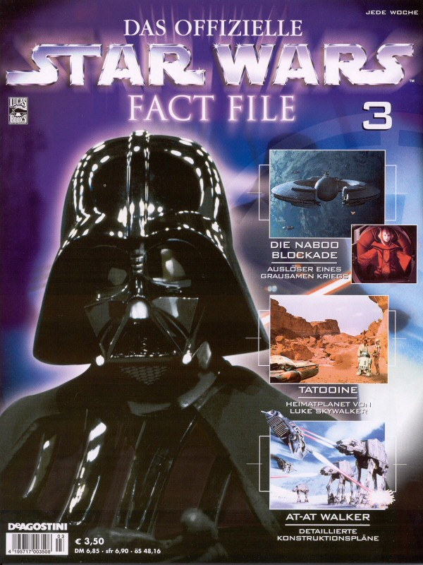 Official Star Wars Fact File #3