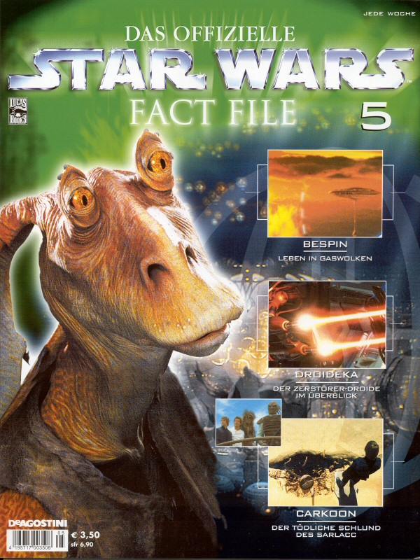 Official Star Wars Fact File #5