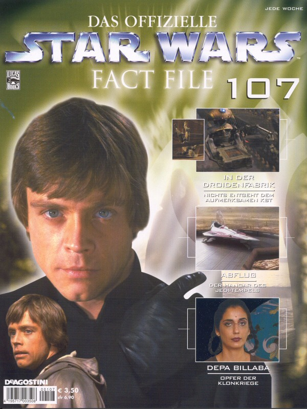 Official Star Wars Fact File #107