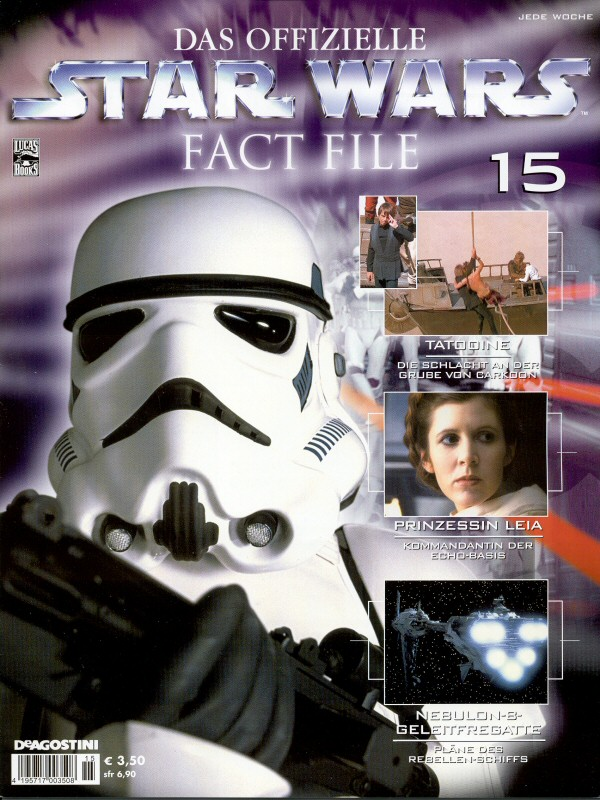 Official Star Wars Fact File #15