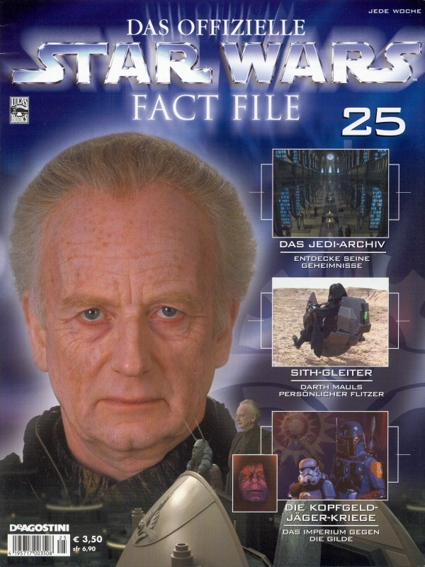 Official Star Wars Fact File #25