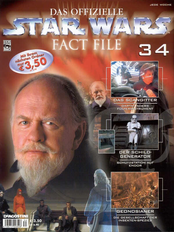 Official Star Wars Fact File #34