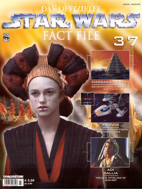 Official Star Wars Fact File #37