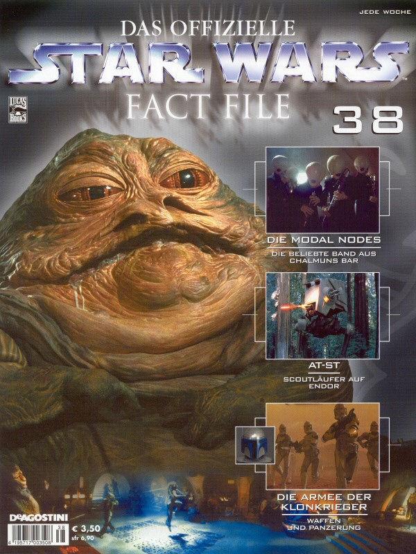 Official Star Wars Fact File #38