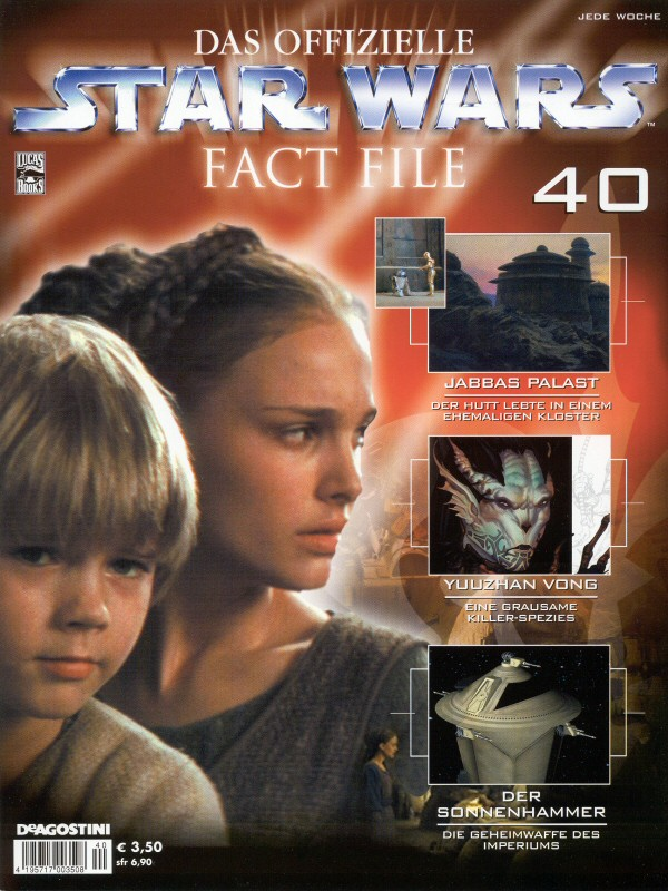 Official Star Wars Fact File 40