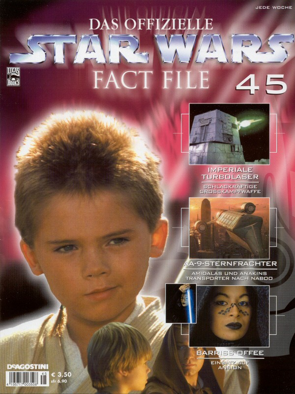 Official Star Wars Fact File #45